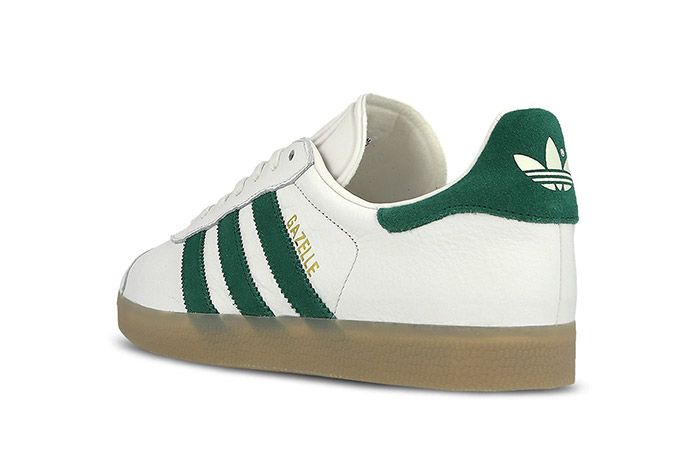 Adidas Gazelle White Green Gum 3