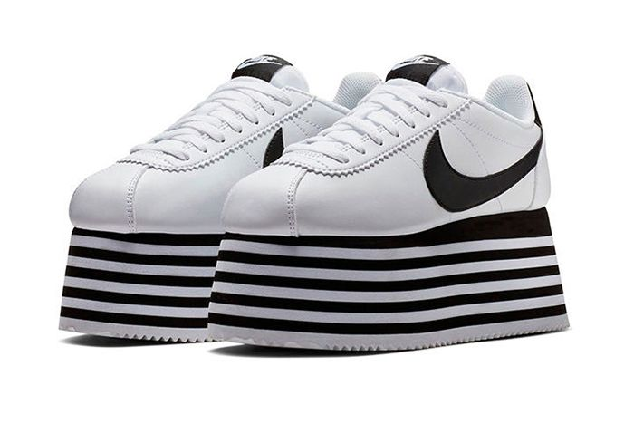 Comme Des Garcons Nike Cortez Platform Release 1