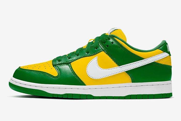 Nike Dunk Low Varsity Maize Pine Green White Cu1727 700 Release Date Leak 1