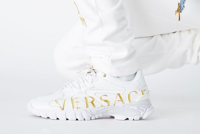 Kith Versace White Gold Low