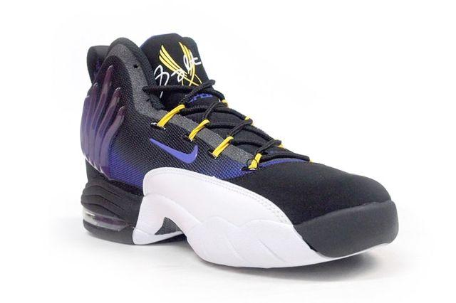 Nike Sonic Flight Purple Yellow 2