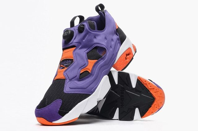 Reebok Instapump Fury Sport Violet Black Swag Orange 2