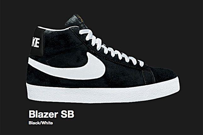 Nike Black Blazer Sb 2007 2