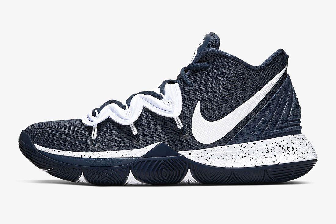 Nike Kyrie 5 Gear Up Midnight Navy Side