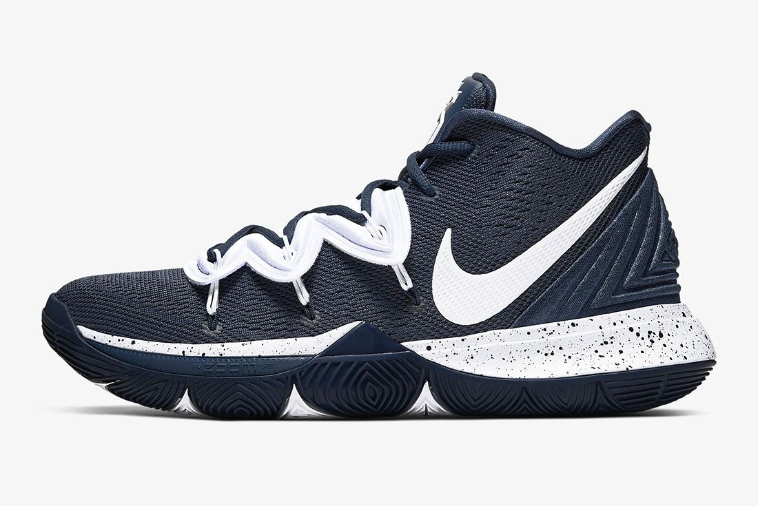 Nike Kyrie 5 Gear Up Midnight Navy Side