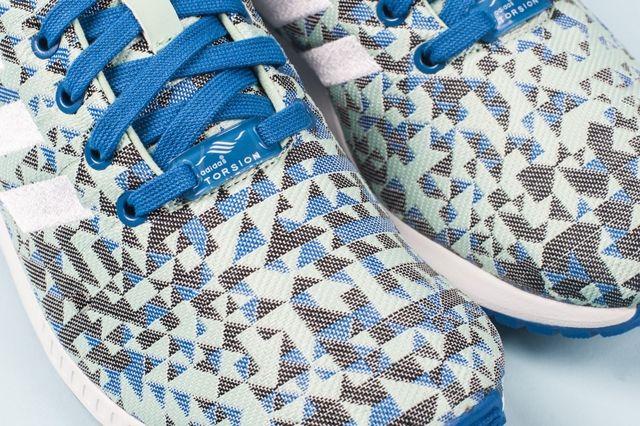 Adidas Zx Flux Weave Ocean Blue 2