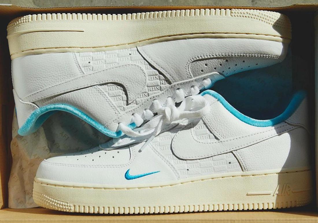 New Kith x Nike Air Force 1