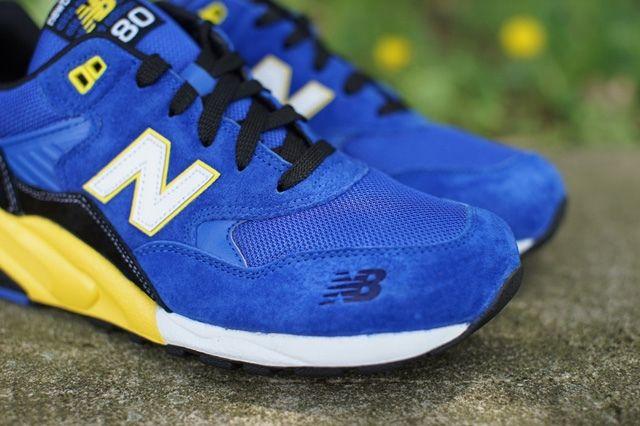 New Balance 580 Blue Yellow 4