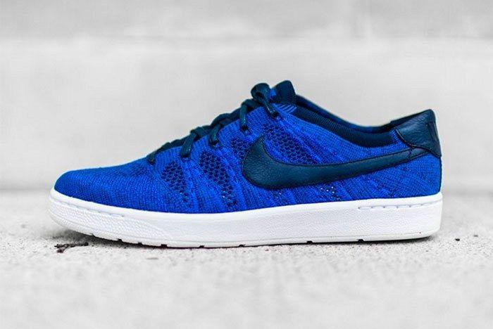 Nike Tennis Classic Ultra Flyknit Blue Feature