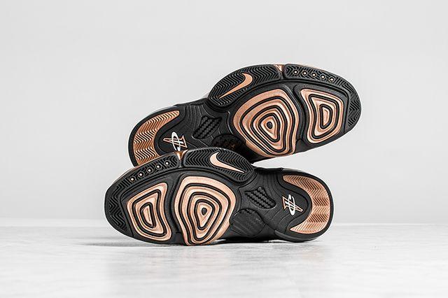 Nike Zoom Penny 6 Premium Black Metallic Copper 7