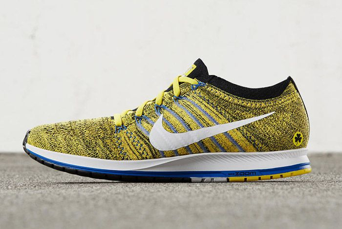 Nike Zoom Flyknit Streak Boston Yellow Blue 4