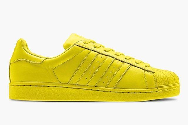 Adidas Superstar Supercolor Yellow