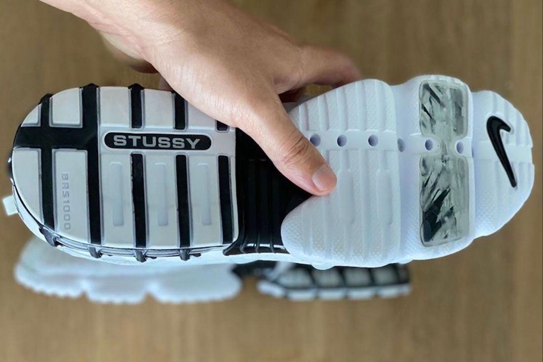 Stussy x Nike Air Zoom Spiridon KK Outsole