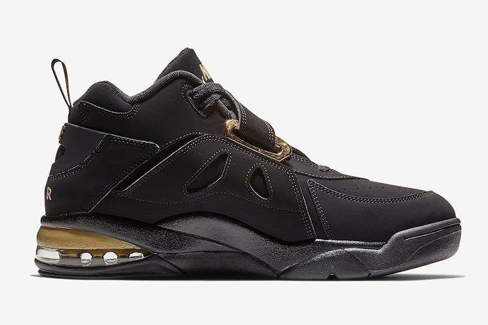 Nike Air Force Max Cb Black Metallic Gold 3