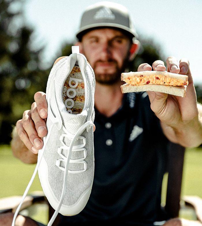 Adidas Golf Cross Knit Boost Pimento Cheese4