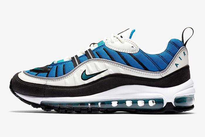 Nike Air Max 98 Blue 4