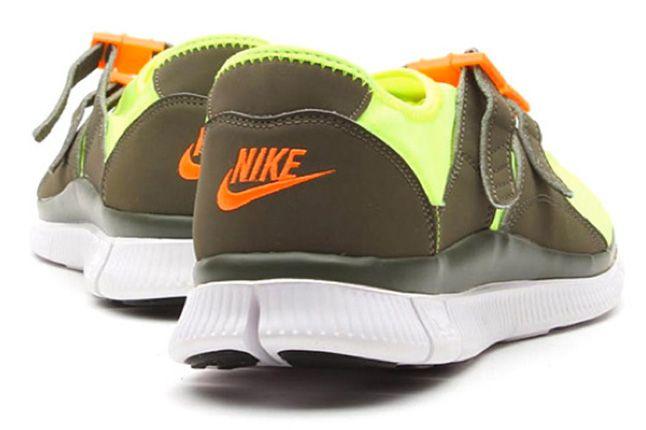 Nike Free Sock Racer Candy Pack Volt Heels 1