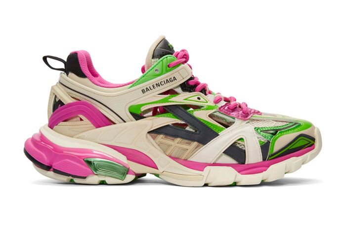 Balenciaga Track 2 Pink Green Right