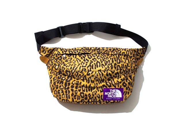 The North Face Purple Label Leopard Print Collection 2013 Waistbag 1