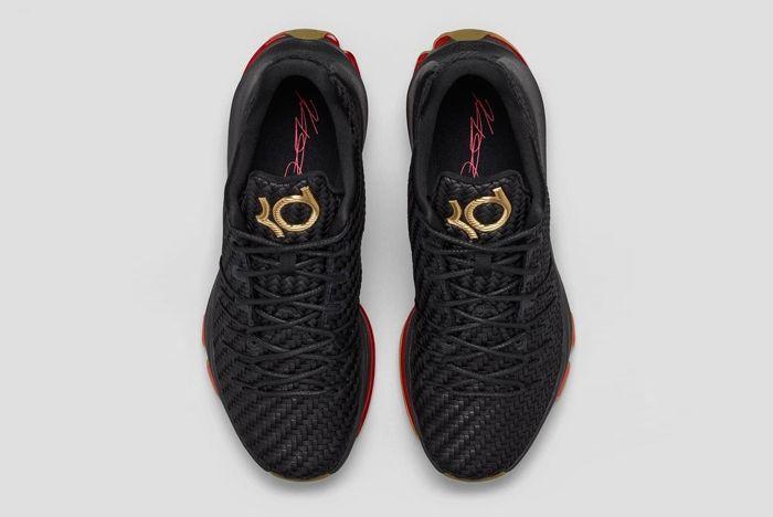 Nike Kd8 Ext Gold Black Woven Bump 5