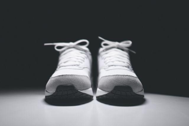 Nike Air Max 1 Wmns White Grey Mist 5
