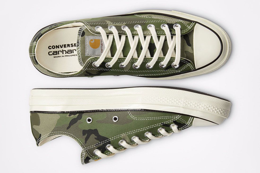 Carhartt WIP x Converse Chuck 70 Camo Top