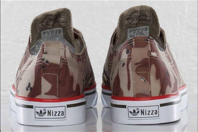 Adidas Nizza Classic78 Desert Camo Heel Profile 1