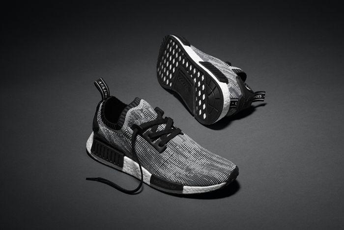 Adidas Nmd R1 Primeknit Core Black3