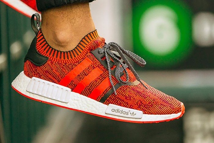 Adidas Nmd R1 Pk Red Applefeature