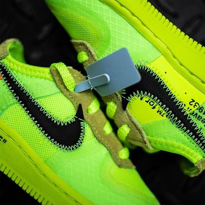 Off White Air Force 1 Volt Toddler 1