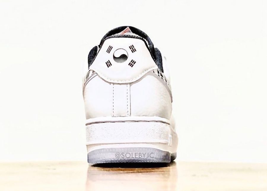 Nike Air Force 1 Korea heel