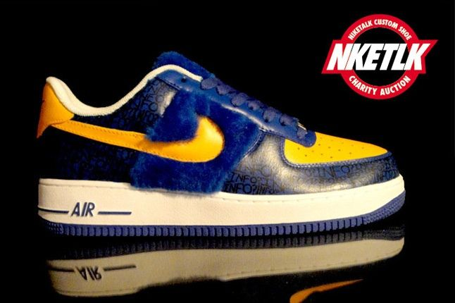 Niketalk Charity Custom Nike Air Force 1Of 3 1