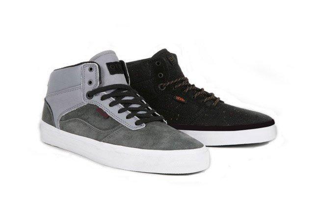 Vans Otw Bedford Gunmetal Grey And Wool Knit Black Holiday 1