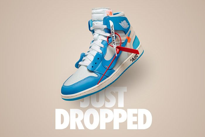 Off White Air Jordan 1 Powder Blue Snkrs 4