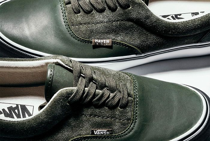 Haven Vans Vault Era Green Detail