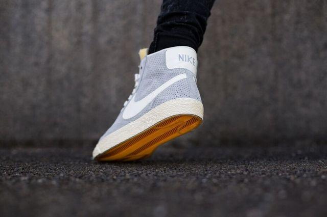 Nike Blazer Mid Vintage Wolf Grey Sail 3