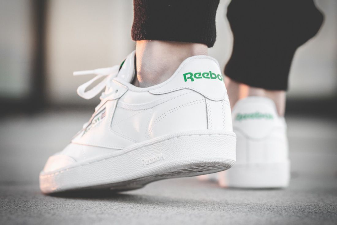 Reebok Club C 85 White Green2