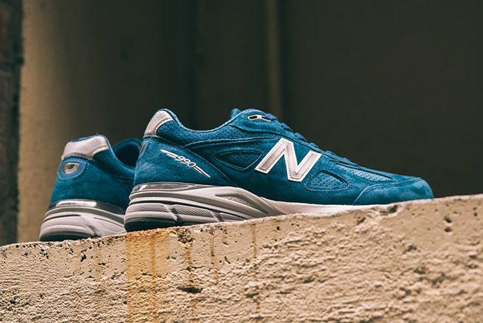 New Balance 990 V4 North Sea Blue 2