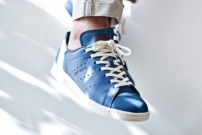 Adidas Stan Smith Horween Indigo Blue 1