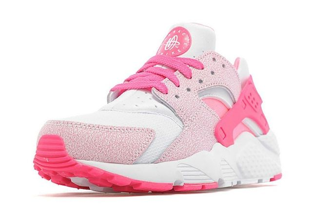 Nike Air Huarache Gs White Pink Pow 03