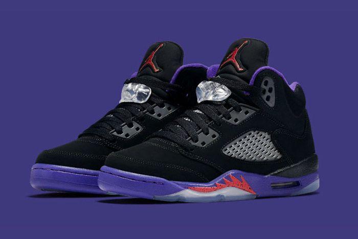 Air Jordan 5 Retro Gs Fierce Purple Raptors 2