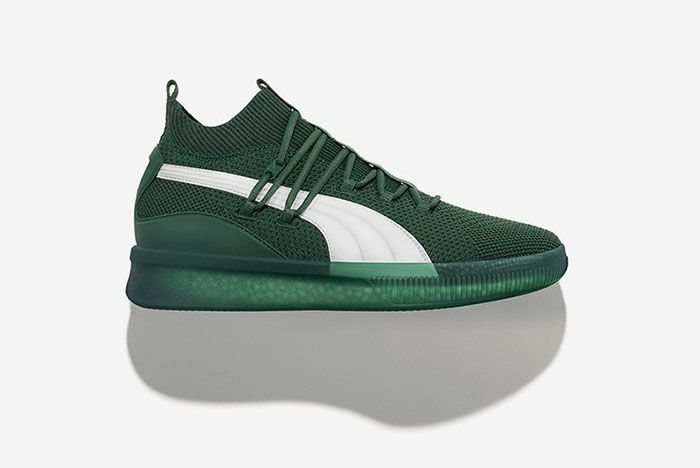 Puma Clyde Court City Pack Green White