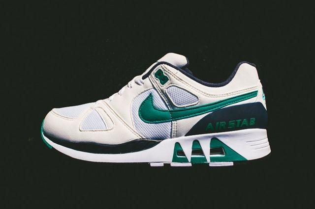 Nike Air Stab Emerald Navy Bumper 4