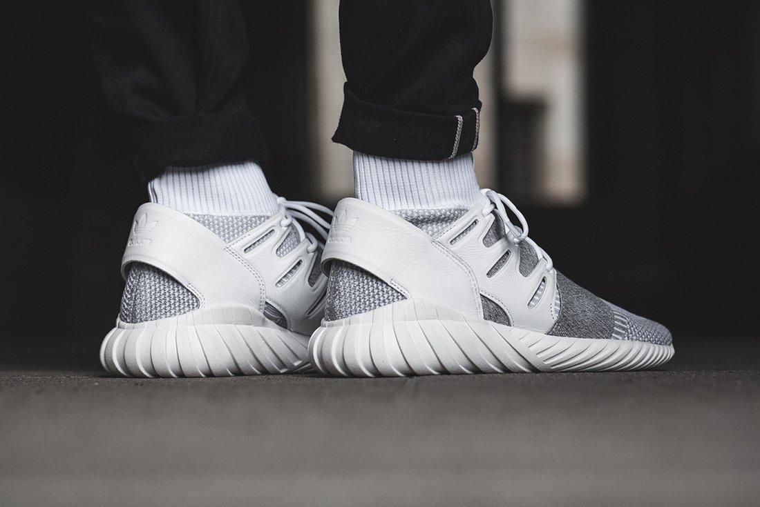 Adidas Tubular Doom Footwear White Clear Grey 1