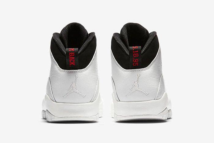 Air Jordan 10 Im Back Summit White Black 6