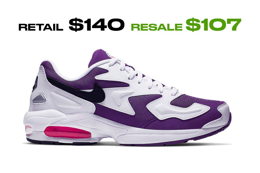 Stockx Resale Nike Air Max2 Light Right Side Shot