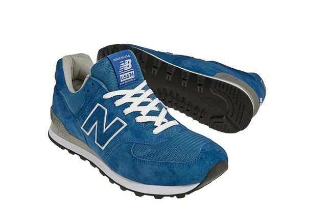 New Balance Race Inspired 574 Blue Outsole 1