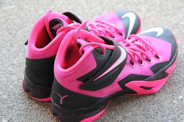 Nike Zoom Le Bron Soldier 8 Think Pink 5