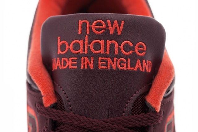 New Balance 1500 Made In England Burgundy Orange