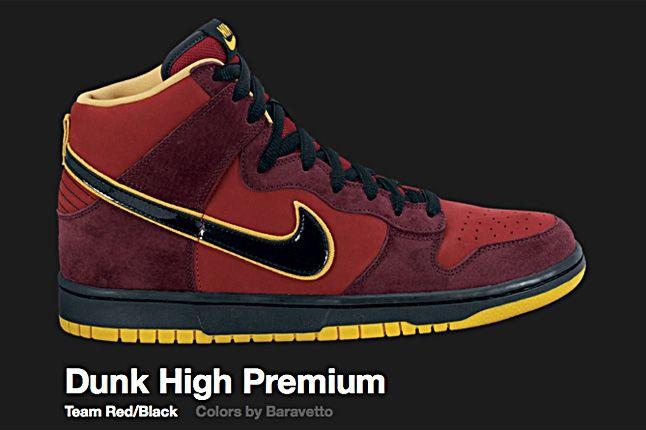 Nike Baravetto Dunk Hi Sb 2010 2
